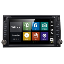"Touch Screen capacitive multi touch car dvd gps player navigation stereo USB SD Bluetooth FM AM 6.2"" 2din in dash free camera"