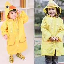 Raincoat for Children Kids Girls boy Cartoon Waterproof Rainproof Rain Coat Poncho Rainwear Suit Waterproof Rainsuit Raincoat(China)