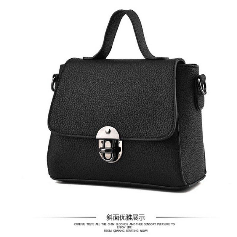 HNSF 100% Genuine leather Women handbags 2017 New handbag patent leather stereotypes handbag fashion handbags Shoulder Messenger<br>
