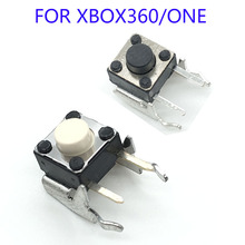 200Pcs Brand New LB RB Button Bumper Resistance Button For Xbox 360 Wireless And Wired Controller Joystick For Xbox360 Replace