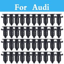 Plastic Rivets Retainer Clips Car Fender Auto Parts Panel Trim Clips Rivet Fastener For Audi Q3 Q5 Q7 A3 A4 A5 A6 A7 A8