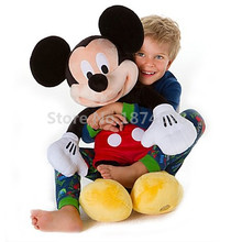 Mickey Plush Toy Large Big 62cm 25'' Cute Mickey Minnie Pelucia Stuffed Animals Kids Toys Dolls for Children Gifts(China)