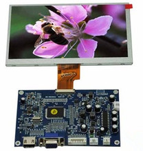 NoEnName_Null HDMI VGA VIDEO Drive Board + 7.0 inch HD TFT LCD Screen 1024*3(RGB)*600 LVDS Interface (NTSC / PAL System)(China)