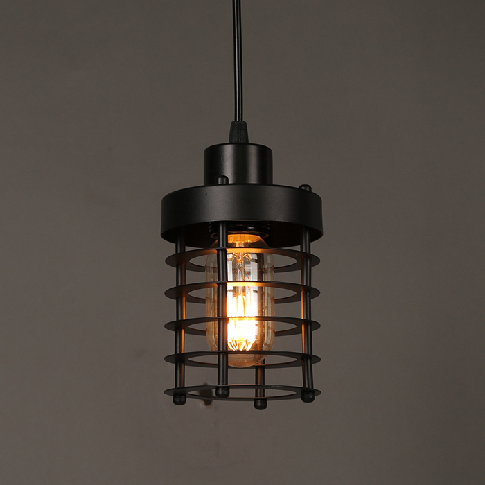 Single head industrial circles chandeliers restaurants clothing stores lamps personalized art coffee shop corridor  GY310<br>