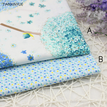 160*50cm A and B Dandelion Pillow cotton Fabric For Sewing Quilting Patchwork home Textile table Window curtain cloth fabric(China)