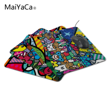 MaiYaCa Britto Arts Funny Design Soft Comfort Computer Mouse Pad Mat Not Lockedge MousePad