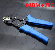Pin Crimping Tool 2.54mm 3.96mm 28-18awg XH2.54 for Dupont Terminals and connectors with Wire-electrode Cutting Die Sets