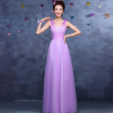 formal light purple long high lavender elegant girls tulle ball gown evening dresses for events all new free shipping S3064