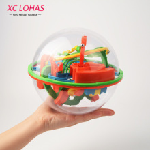 100-158 Steps Large 3D Perplexus Maze Ball Magic Rolling Marble Puzzle Intellect Maze Ball IQ Balance Toy Children Toys(China)