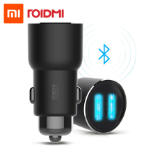 Xiaomi roidmi 3 S Dual USB Bluetooth автомобиля Зарядное устройство 5 В 3.4a fm Xiaomi приложение для IOS/Android Xiaomi roidmi 3(China)