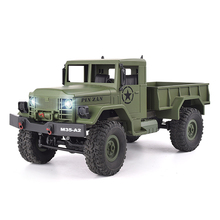 Buy 4WD RC Car 1:16 High Speed Military Truck Rock Rover Cars Remote Control Radio Controlled Road Vehicle Toys Boys for $31.87 in AliExpress store