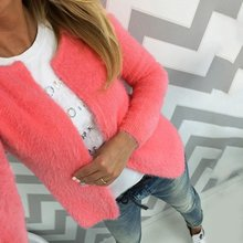 Fashion Casual Women's Spring Cardigans Autumn Long Sleeve Short Knitted Cardigan 2017 New Female Sweaters Open Stitch HOT SALE