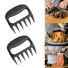 2x Grizzly Bear Paws Claws Shredding Chicken Cooking Beef Meat Handler Fork Tongs Pull Shred Lift Toss Pork BBQ Tool