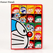Source of foreign trade A Doraemon Doraemon PVC passport set card passport cover cartoon clip documents