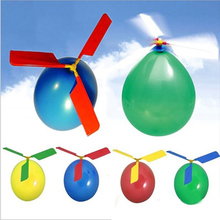 Balloon Traditional Classic Balloon Helicopter Kids Party Bag Filler Flying Toy Children Educational Toys