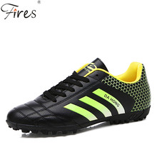 Fires Brand Turf Soccer Shoes Men Spring And Summer Football Shoes For Man And Woman Sports Shoes chuteiras zapatos de futbol(China)