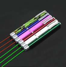 Military Red/Green 650nm/532nm 200m USB Rechargeable Laser Pointer with Rechargeable Battery 9 Body Colors