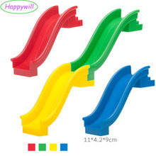 Happywill 1pc Playground Slide Kids Toys & Games Building Block (Blue,Green,Yellow, Red)(China)
