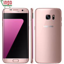Samsung Galaxy S7 Edge G935F/G935V LTE Mobile Phone Quad Core 5.5'' 12.0MP One SIM 4G RAM 32 ROM GPS WIFI 3600mAh Smartphone