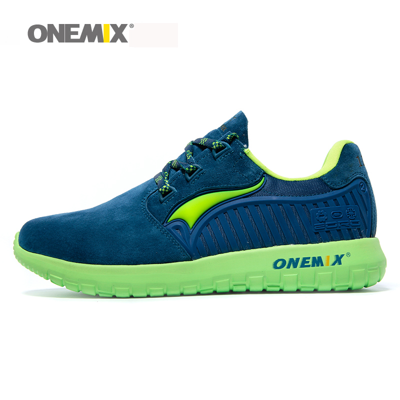 Onemix brand Autumn Winter unisex running shoes antislip womens retro sport sneakers travelling shoes for men size EU36-45<br>