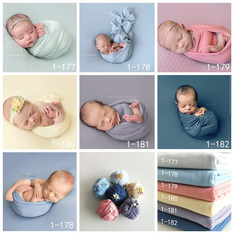 Fashion Newborn Baby Photography Props Floral Wrap Blanket Decorative Baby Shooting Flower Mat Retro Infant Photo Accessories 2