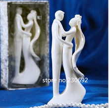 Free Shipping Bride And Groom Wedding Cake Topper Cake Stand Wedding Cake Accessories Wedding Decoration Casamento