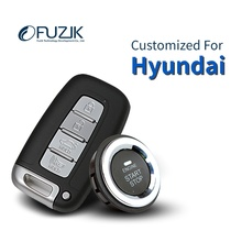 Fuzik Keyless Go Smart Key Keyless Entry Push Remote Button Start for Hyundai Sonata Verna Rohens ix35 ix25 Elantra i30 Tucson(China)