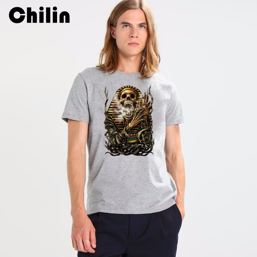 Chilin Brand Men Summer T Shirts Fashion 2017 New Cotton High Quality O Neck