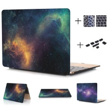 Starry Sky Series Hard Case Protector for MacBook 12 inch Air 13 inch Pro 13 Pro Retina 13 inch Touch Bar 13 With Keyboard Cover(China)