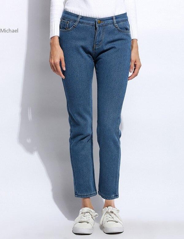 Fanala Brand New Autumn Fashion Pencil Jeans Woman Mid Waist Full Length Zipper Slim Fit Skinny Women PantsОдежда и ак�е��уары<br><br><br>Aliexpress