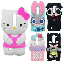 For LG Magna C90 H502F H500F Cute Pug Dog Hello Kitty Batman Cupcakes Design Silicone Soft Cell Phone Case Cover