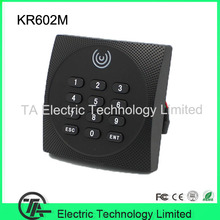 Wiegand reader KR602M access control system IC card and keyboard reader  IP64 waterproof smart card reader