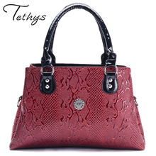 Buy 2017 New Serpentine Leather Bags Women Handbags Luxury Crossbody Bags Women Shoulder Bags Female Famous Brands Designer X01# for $21.60 in AliExpress store