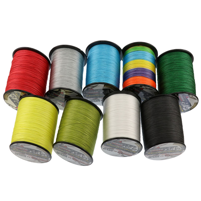 Japan spectra multifilament pe braided fishing line 8 strands 1000M moss green 50LB-100LB super fishing tackle strong wire line<br>