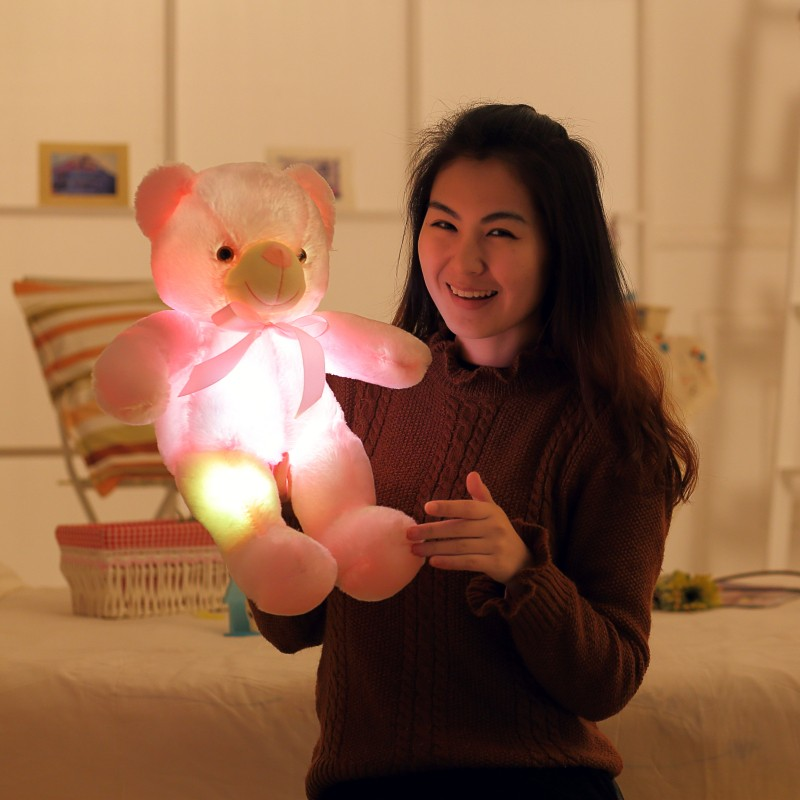 5-Cute-50cm-Creative-Light-Up-LED-Teddy-Bear-Stuffed-Animals-Plush-Toy-Colorful-Glowing-Teddy-Bear