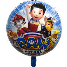 July Forest 1 pces/ 18inch Patrolling Foil Balloons DOG Helium Balloon Patrulla Canina Toys Patrolling Party Decora(China)