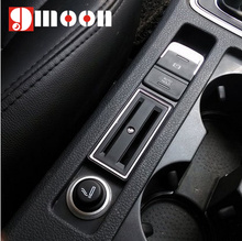 Hot Products Car Card Holder Coin Slot Auto Styling For VOLKSWAGEN VW GOLF 7 Gti MK7 Car Accessories