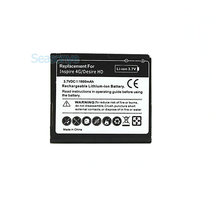 Seasonye 10pcs/lot 1600mAh BD26100 Replacement Battery For HTC G10 Desire HD Surround T8788 T9188 T9199 A9191 Inspire 4G A9192