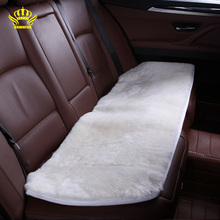 Car interior accessories Car seat covers sheepskin fur cute cushion styling auto covers 5 color FOR BACK SEAT 2015 NEW HTC001(China)