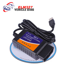 ELM 327 V1.5 OBD 2 ELM327 USB Interface CAN-BUS Scanner Diagnostic Tool Cable Code Support OBD-II Protocols(China)