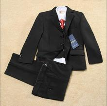 Kids Solid Black Formal Boys Wedding/Tuxedo Suits boy Blazer Suit Mariages/Perform Dress Costume Enfants Garcon Blazers