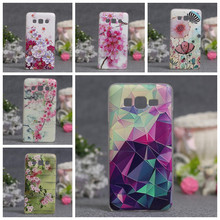 3D Relief Phone Case For Samsung Galaxy Grand Prime G530 G530H G530Y G530FZ G531 Soft TPU Cases Silicone Cover Flower Bags shell(China)