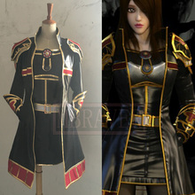 LOL Leona Cosplay Costume Anime Custom Made Uniform Any Size