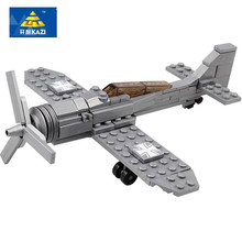 Building Blocks Century Military Fw190 Fighter Plane Kazi 82006 126pcs compatible with All Leading Bricks Toys(China)