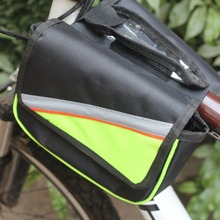 2017 Bicycle Bike Cycling Frame Double Pannier Front Tube Mobile Holder Phone Bag Best Sellernew brand