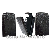Luxury Crocodile Flip Leather Case Cover For Blackberry Curve 8520 BB8520