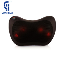 YICHANG Heated Acupuncture Shiatsu Body Massager Butterfly 3D Vibrator Neck Massage Pillow For Health&Relaxation Care(China)