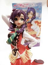 Anime Love Live Nozomi Tojo Super Premium Figure Spm Sunny Day Song Sega PVC Action Figure Collection Model Kids Toy Doll GC048