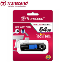 Transcend JetFlash 790 USB Flash Drive High Speed USB 3.1 Flash Memory Stick Business Pen Drive 128GB 64GB 32GB 16GB 8GB(China)