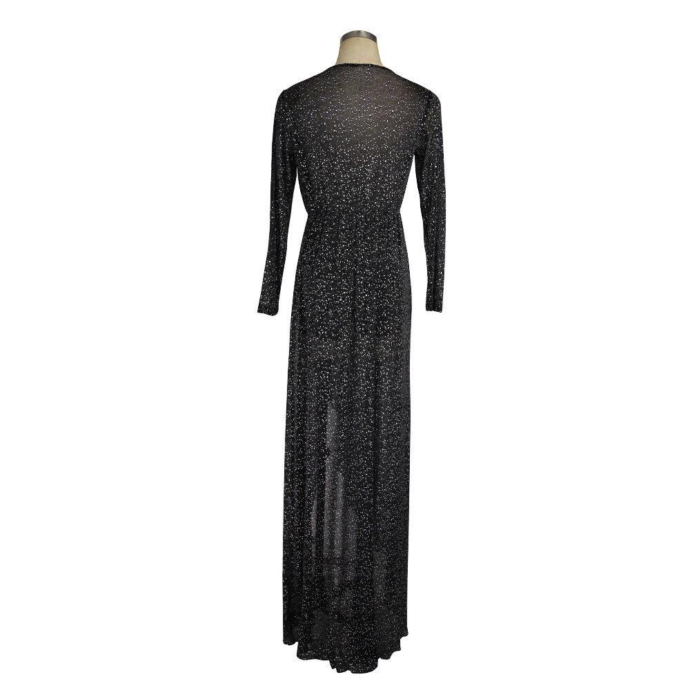 Detail Feedback Questions about MUXU fashion black silver glitter ... 29d6b8356479